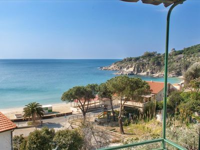 Photo for APARTMENT WITH STUNNING SEAVIEW IN CAVOLI ON ELBA ISLAND