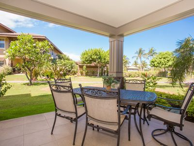 Photo for Spacious oceanfront luxury condo with private lanai, BBQ, WiFi at the Waikoloa Beach Resort