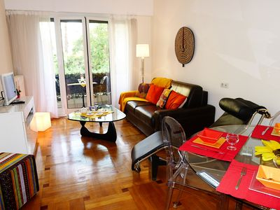 Photo for VUE JARDIN MASSENET AP4079 - Apartment for 4 people in Nice