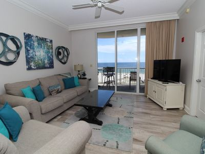 Photo for Spanish Key 305- Beach Front Views from Terrace with Luxurious Interior!