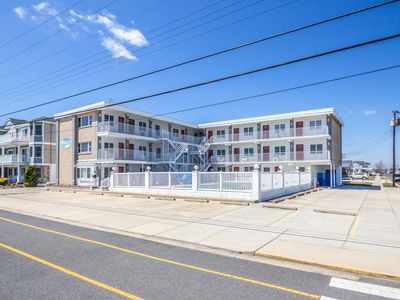 Photo for Desirable North Wildwood Condo with Pool, Grills -- Close to Beach and Boardwalk
