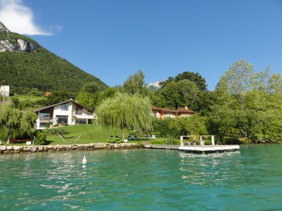 Photo for Exceptional 5 Star Villa with Private Pontoon with a Direct Access to the Lake