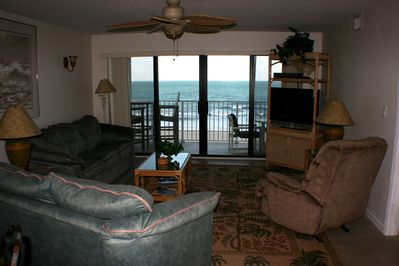 View of the Beach from the Living Room!!!