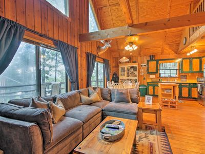 Photo for Enchanting Tiger Cabin w/ Deck & Forest/Mtn Views!