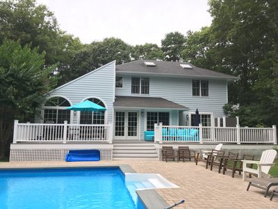 Photo for Newly renovated luxury summer retreat with stunning pool & quiet surrounds. Zen.