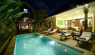 Photo for Bali - Wonderful villa in pure Balinese style with private pool