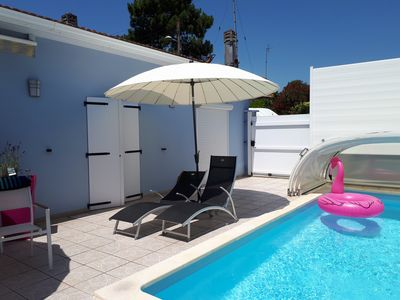 Photo for BEAUTIFUL ARCACHON VILLA WITH SWIMMING POOL LOCATED 80M FROM THE BEACH AND PORT
