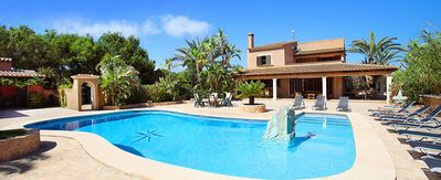 Photo for 6 bedroom Villa, sleeps 10 with Pool, Air Con, FREE WiFi and Walk to Shops