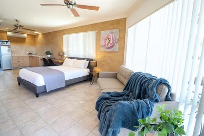 Apartment with queen bed