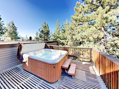 Hot Tub - Welcome to Zephyr Cove! This Lake Village condo is professionally managed by TurnKey Vacation Rentals.