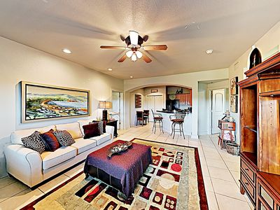 Photo for New Listing! Top-Floor Perch on Green w/ Pools - 10-Minute Drive to Beach