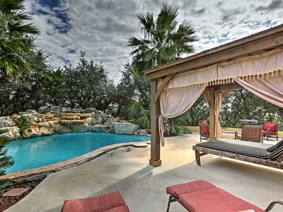 Photo for Sleek Helotes Home w/Pool, Cabana & Hot Tub Access