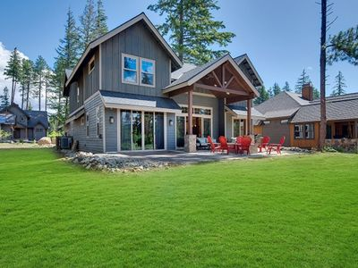 Photo for Gorgeous Mountain Home w/ Covered Patio, BBQ, Fire Pit, and Full Resort Access!