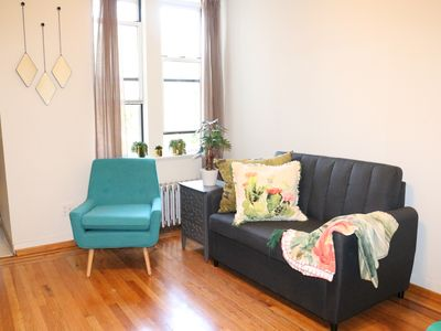 Photo for Manhattan Views in Greenpoint Williamsburg 1 Stop to Manhattan for 6 Guests!