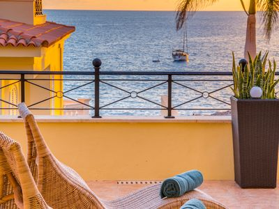 Photo for TROPICAL VILLA, TERRACE ON THE SEA!