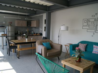 Photo for Spacious, unique, modern & central, near Coyoacan, shops and transport
