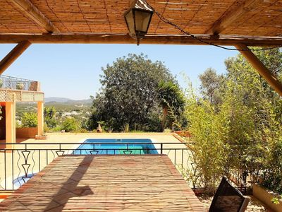 Photo for Gorgeous vila with private heatable pool. Stunning views to the coast.