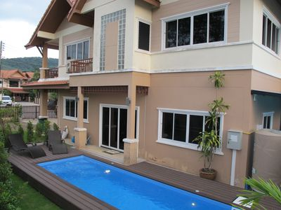 Photo for Tin's Private Pool Villa (Fully Air-conditioned villa, European Style) Aonang