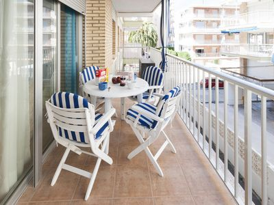 Photo for DANUBIO - Apartment with terrace in Playa De Gandia.