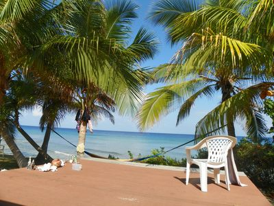 Photo for 29 Palms Direct Oceanfront! Cayman Brac