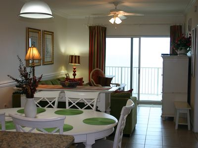 Photo for Beachfront & Relaxing-2BR 2BA Condo-Large Balcony-CDC/VRBO Guidelines in place