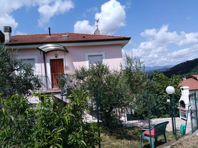 Photo for 20 minutes from the Cinque Terre Family apartment with garden and barbecue