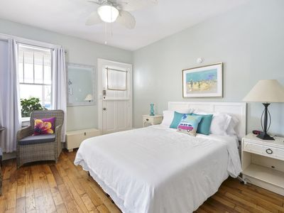 Beautiful 1st Floor Oasis - Just 160 Steps to the Beach! King Bed! Free Parking!