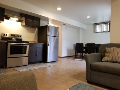 Photo for Suburban Suite Close to DC and Transportation.