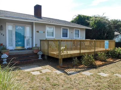 Photo for Serendipity: 4 Bed/2 Bath House with Ocean Views Convenient to Fishing Pier and Restaurants