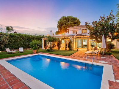 Photo for Beautiful Mediterranean 4 bedroom villa with private pool and garden