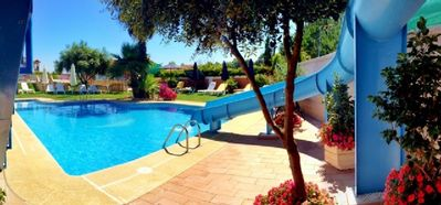 Photo for 2 bedroom apartment with pool ideal for families
