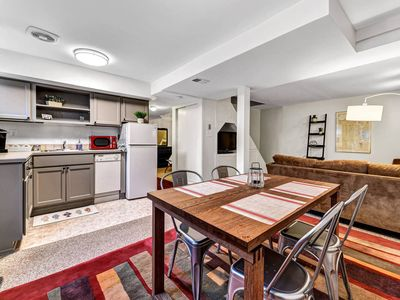 Photo for Large Private Apartment. One block to Burke Gilman & Bus. .5M to Children's