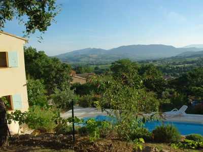 Photo for Little paradise offering exceptional views facing the village