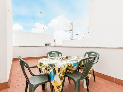 Photo for Central and with private rooftop terrace - Apartment Miramar