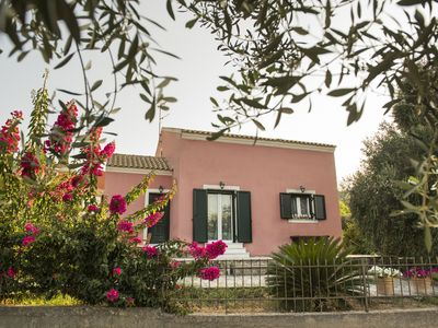 Photo for A lovely villa ideally located near the old Corfu Town & cosmopolitan beaches
