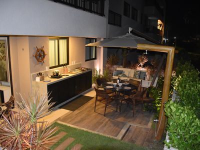 Photo for Perfect!! Flat Garden with Barbecue 90sqm all equipped.