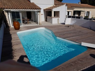 Photo for villa comfort 15 minutes from the beaches and Montpellier