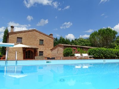 Photo for Country House in Crete Senesi between Siena and Val d'Orcia Area