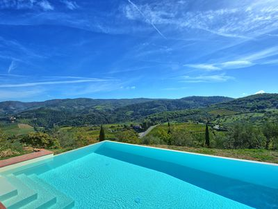 Photo for 3 bedroom Apartment, sleeps 6 in Corti with Pool and WiFi