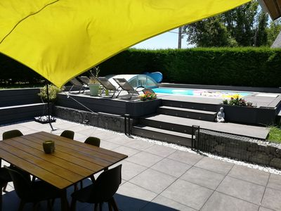 Photo for Villa with pool 15 km Annecy and 30 km Aix-les-Bains
