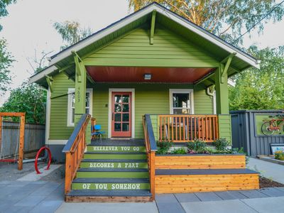 Photo for Hot & Chic Mississippi District -Fresh, Bright & Modern Bungalow
