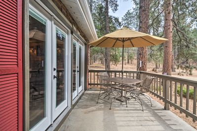 Enjoy the over 1 acre of property with shared amenities like a kids play area.