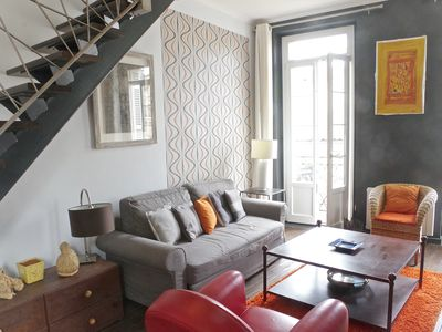 Photo for Beautiful 72m2 duplex apartment in the city center