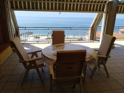 Photo for Attic sea view 10 meters from the beach