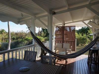 Photo for Charming Creole house, large ventilated terrace, garden
