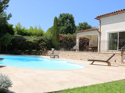 Photo for Luxurious South Facing Villa with Private Pool, Beautiful Terrace, Sunny Garden