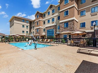 Photo for Free Breakfast. Outdoor Pool. King Suite w/ Easy Access to Convention Center