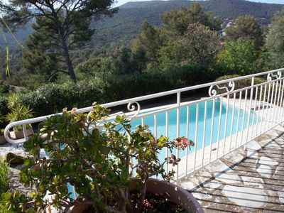 Photo for Charming villa with beautiful pool 1km from the beach