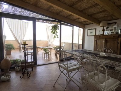 Photo for Between seas and TraMonti - House with panoramic terrace