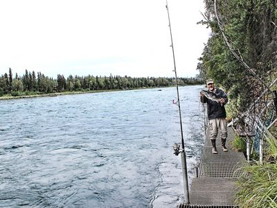 Photo for 2 Bedroom Kenai River Hideaway-Located right on the Kenai River!